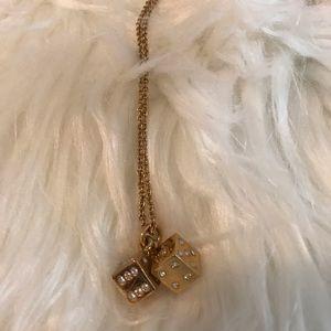 kate spade Jewelry - 🖤 SOLD 🖤Kate Spade Lucky Streak Dice Necklace